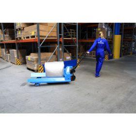 Ročni paletni voziček za okrogle tovore RH